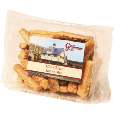 Picture of PERSONALISED SAVOURY BISCUITS