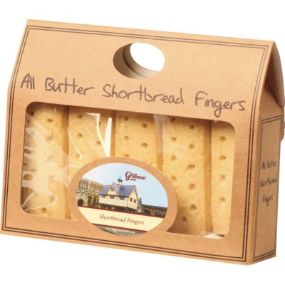 Picture of PERSONALISED BUTTER SHORTBREAD FINGERS GIFT PACK