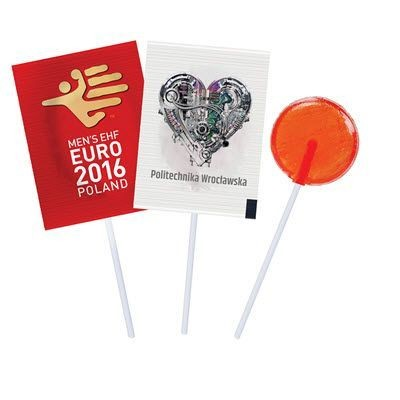 Picture of FLAT LOLLIPOPS with Personalised Foil