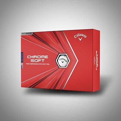 Picture of CALLAWAY CHROME SOFT X GOLF BALL