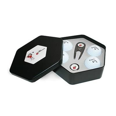 Picture of CALLAWAY 4 GOLF BALL HEX TIN & TOOLS