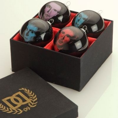 Picture of HAND PAINTED PROMOTIONAL BAUBLE SET