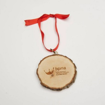 Picture of WOOD ECO BAUBLE