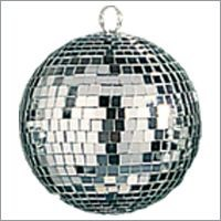 Picture of GLITTER MIRROR DISCO BAUBLE