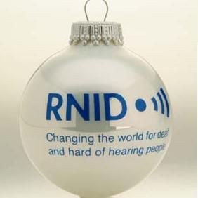 Picture of GLASS PROMOTIONAL BAUBLE in Shiny White