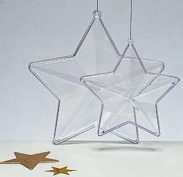 Picture of PROMOTIONAL PERSPEX STAR BAUBLE