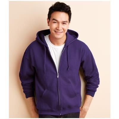 Picture of GILDAN HEAVY BLEND ZIP HOODED HOODY SWEATSHIRT