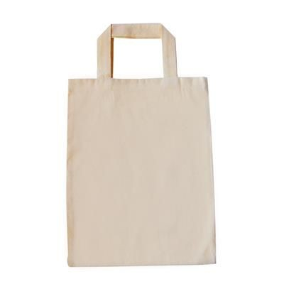 SUPER PREMIUM NATRAL MINI SHOPPER TOTE BAG