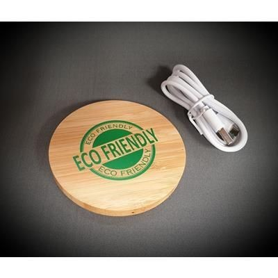 Picture of ECO BAMBOO CORDLESS CHARGER