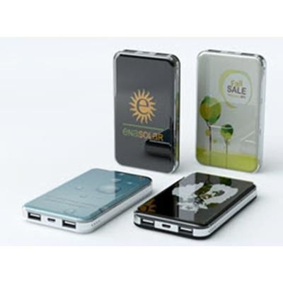Picture of CRYSTAL SQR EXECUTIVE POWERBANK with LED Logo
