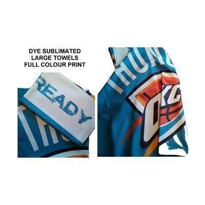 Picture of DYE SUBLIMATED WHITE TOWEL