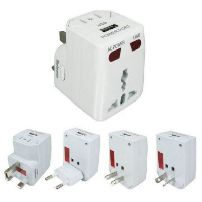 Picture of UNIVERSAL TRAVEL ADAPTOR in White
