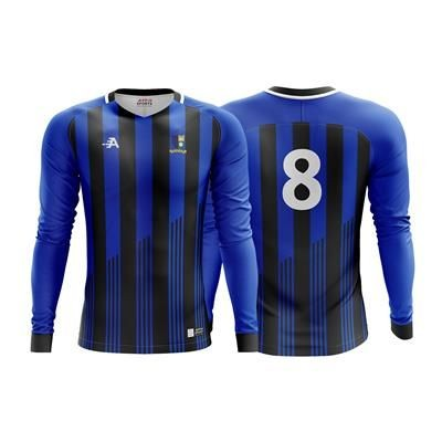 Picture of BESPOKE FOOTBALL LONG SLEEVE JERSEY SET