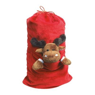 Picture of MOOSE CHRISTMAS BAG