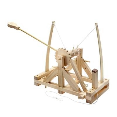 Picture of LEONARDO DA VINCI CATAPULT CONSTRUCTION KIT