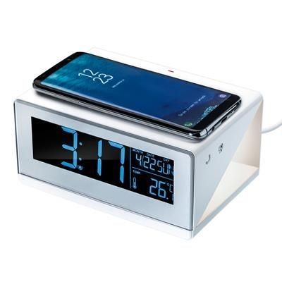 Picture of CESSNOCK CORDLESS CHARGER with Alarm Clock