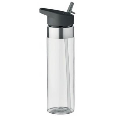 Picture of H2O TRITAN WATER DRINK BOTTLE with Straw 750ml