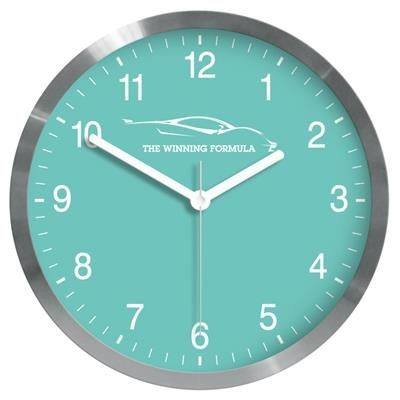 Picture of PARIS METAL WALL CLOCK in Silver