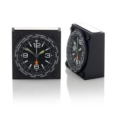Picture of RADIUS WORLD TIME CLOCK in Black