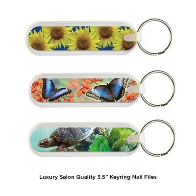 Picture of 3 INCH LUXURY SALON QUALITY NAIL FILE KEYRING