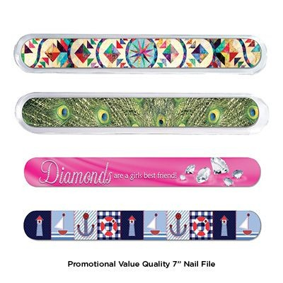 Picture of 7 INCH PROMOTIONAL VALUE NAIL FILE