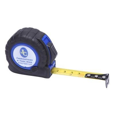 Picture of TT3 TAPE MEASURE in Black with Blue Trim