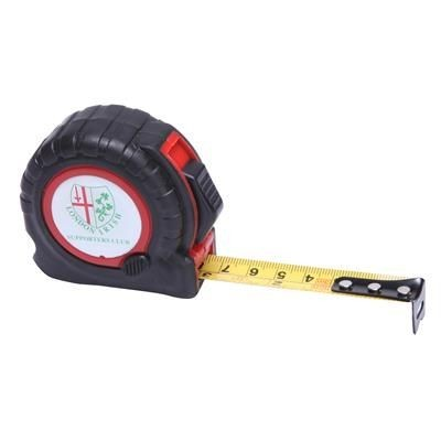 Picture of TT3 TAPE MEASURE in Black with Red Trim