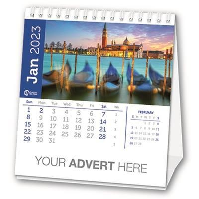 Picture of 12 LEAF DESK CALENDAR