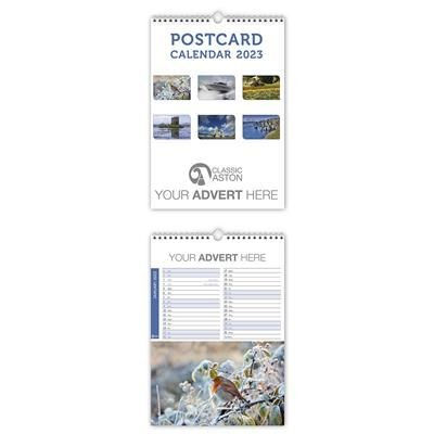 Picture of POSTCARD WALL CALENDAR