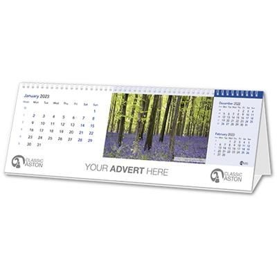 Picture of 12 LEAF LANDSCAPE DESK CALENDAR