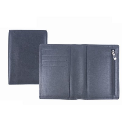 Picture of GRAINED LEATHER PASSPORT HOLDER