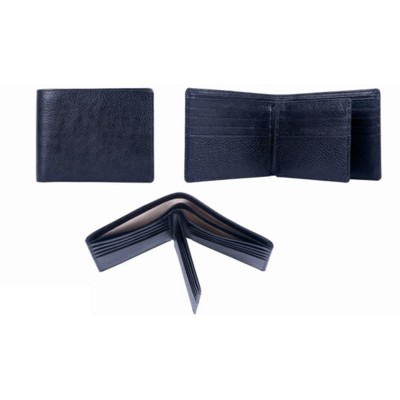 Picture of NATURAL GRAINED LEATHER MENS WALLET