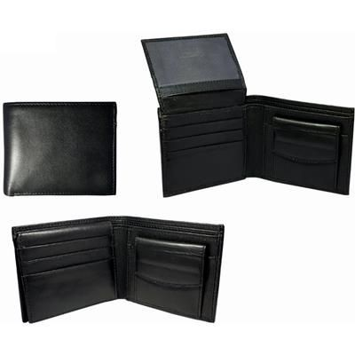 Picture of SHEEP NAPPA LEATHER MENS WALLET in Black