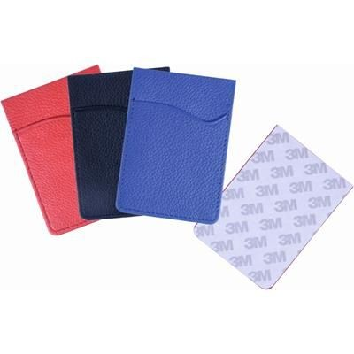 Picture of LEATHER MOBILE PHONE CARD POUCH with 3M RFID Sticker