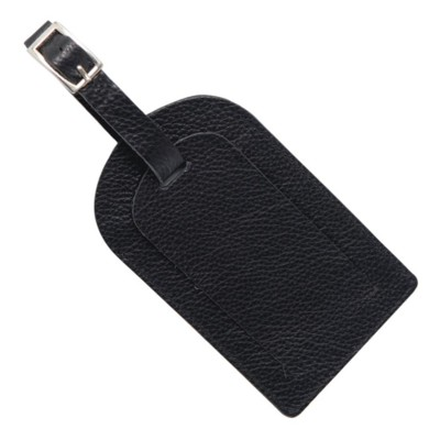 Picture of MELBOURNE NAPPA LEATHER LUGGAGE TAG in Black