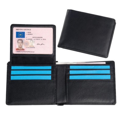 Picture of MELBOURNE NAPPA LEATHER HIP WALLET in Black