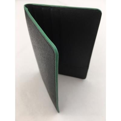 Picture of QUALITY SAFFIANO GRAINED LEATHER PASSPORT WALLET