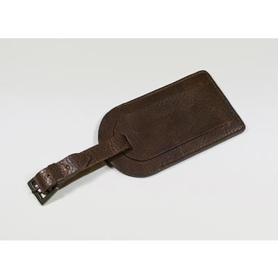 Picture of ASHBOURNE OIL PULL UP GENUINE LEATHER LUGGAGE TAG