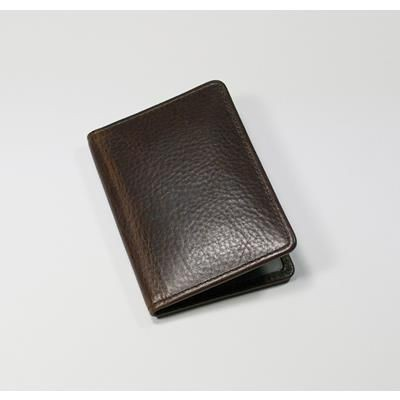 Picture of ASHBOURNE OIL PULL UP GENUINE LEATHER OYSTER CARD WALLET