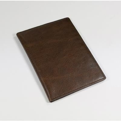 Picture of ASHBOURNE OIL PULL UP GENUINE LEATHER PASSPORT WALLET