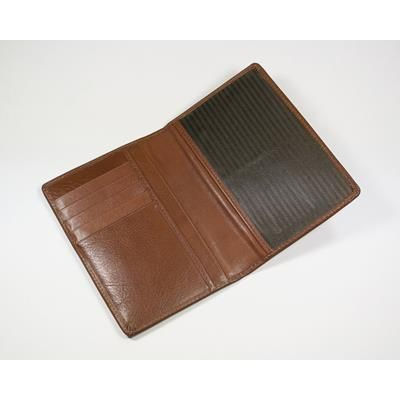 Picture of ECO VERDE GENUINE LEATHER PASSPORT WALLET
