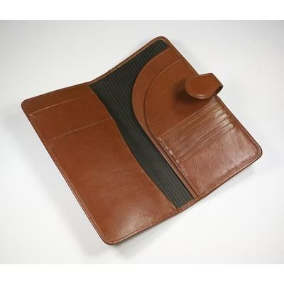Picture of ECO VERDE GENUINE LEATHER TRAVEL WALLET
