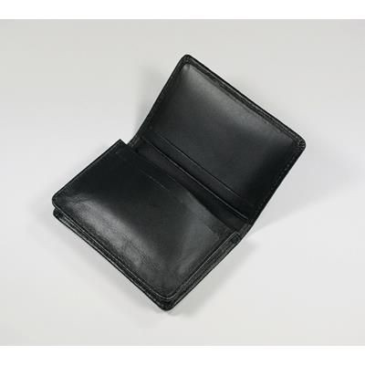 Picture of MALVERN GENUINE LEATHER BUSINESS CARD POCKET HOLDER in Black