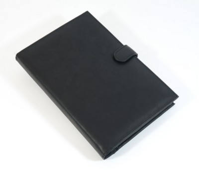 Picture of PRESTBURY FAUX LEATHER A5 BOOK AND COVER