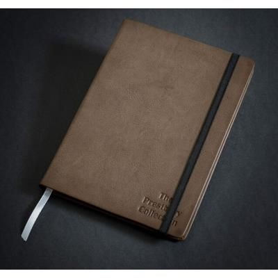 Picture of PRESTBURY A5 FAUX LEATHER JOURNAL