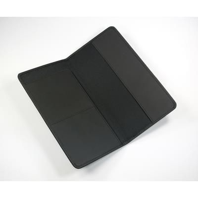 Picture of BURLINGTON PU TRAVEL WALLET in Black