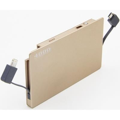 Picture of 4000mAh INTEGRATED CABLE POWERBANK