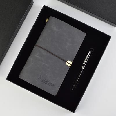 Picture of ANDROS GIFT SET PEN & NOTE BOOK