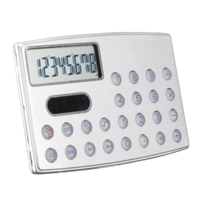 Picture of CREDIT CARD CALCULATOR in Silver