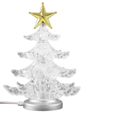 Picture of USB DESK CHRISTMAS TREE in Translucent Clear